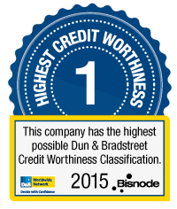 Dun & Bradstreet Credit Worthiness Classification by Bisnode
